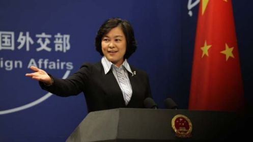 China's Foreign Ministry spokesperson Hua Chunying